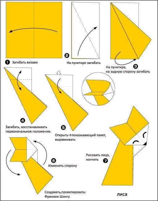 Как сделать лису